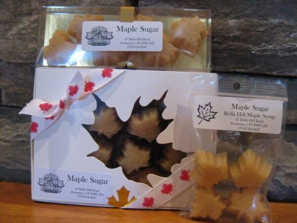 Maple Sugar Candies