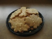 Maple Sugar Shortbread Cookies